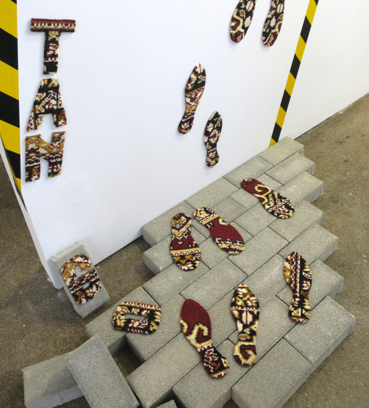 TANGORSZÁG - Teppich Installation