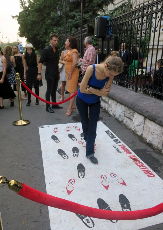Vereda del Tango - Budapest - inauguration
